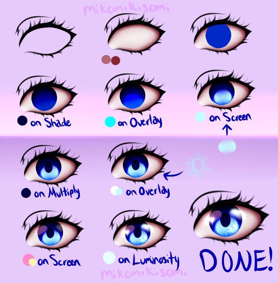 Pin By Sami Johnston On Art Anime Eyes Drawings Anime