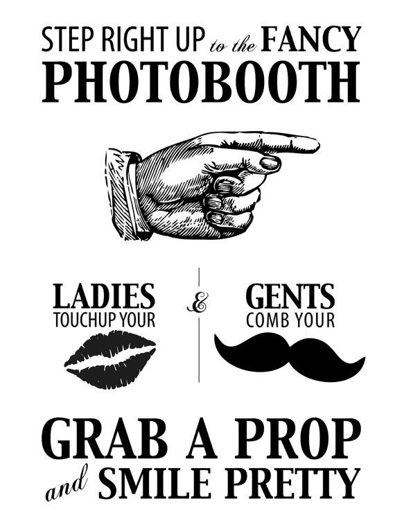 Photobooth Poster Sign By 29designstudio On Etsy 57 95