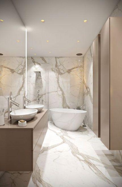 28+ Ideas Bath Beige Marble Porcelain Tiles for 2019   28+ Ideas bathroom beige marble porcel...