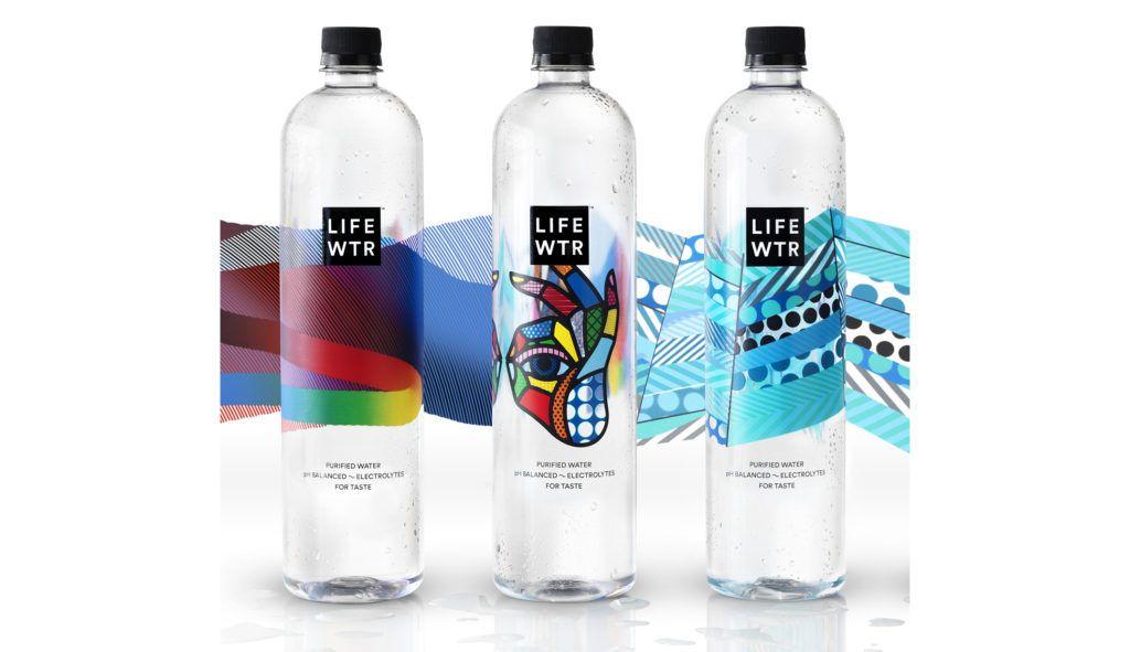 Precioso Packaging De Lifewtr La Nueva Marca De Agua De Pepsico