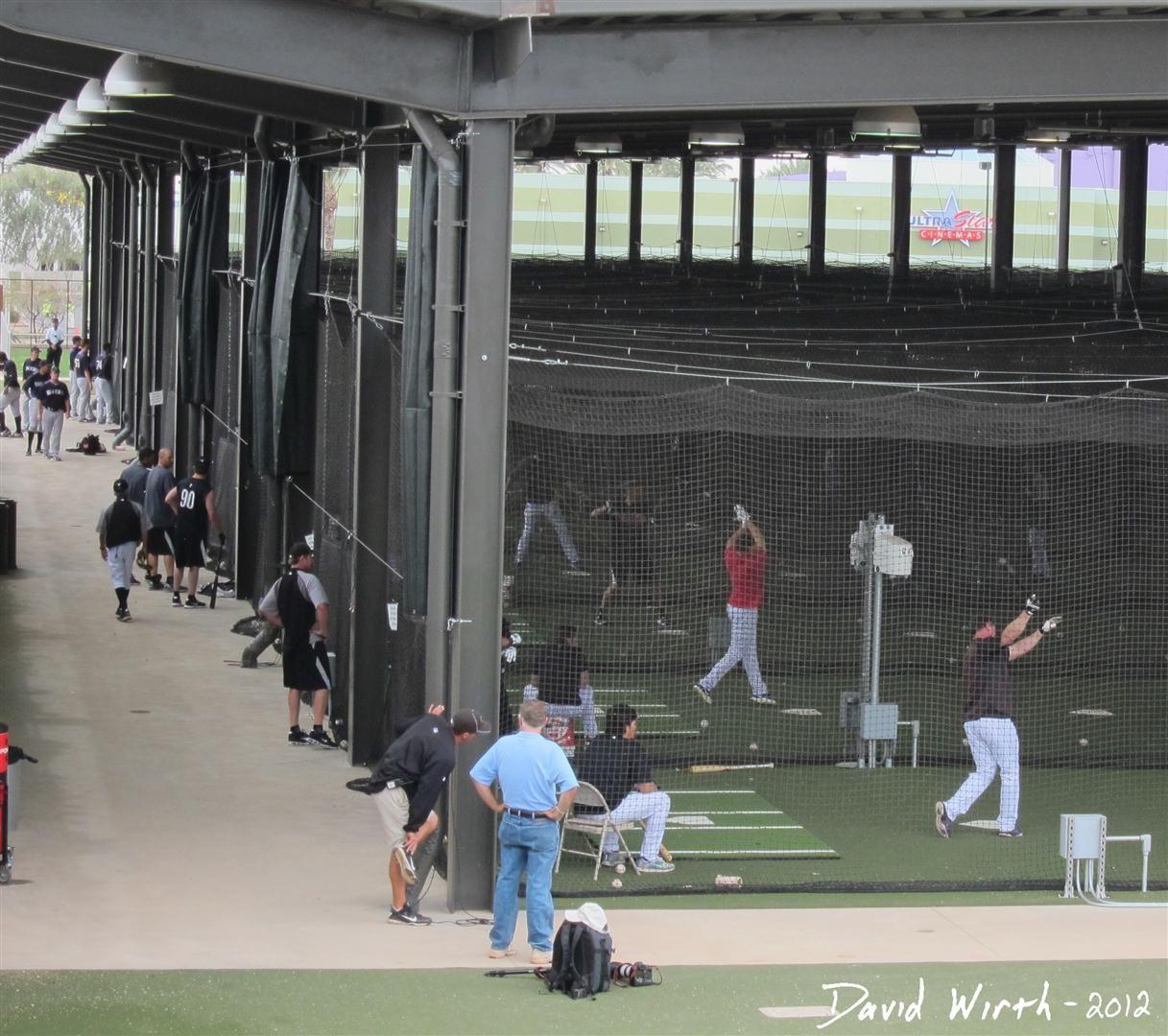 Spring Training Mlb Batting Cage | Spring Training Baseball Scottsdale  Arizona Batting Cages