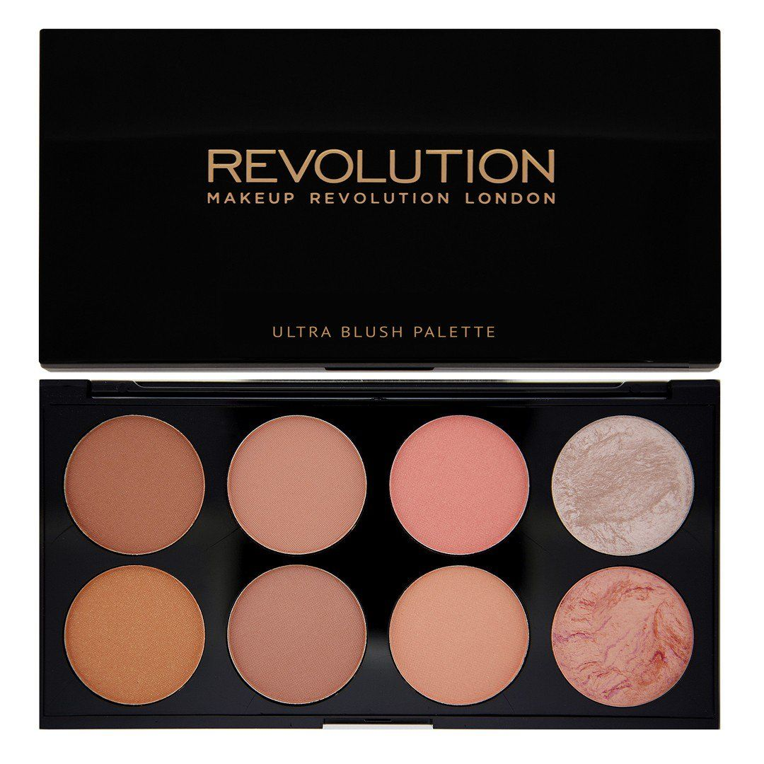 Makeup Revolution Ultra Blush Palette Hot Spice Cream