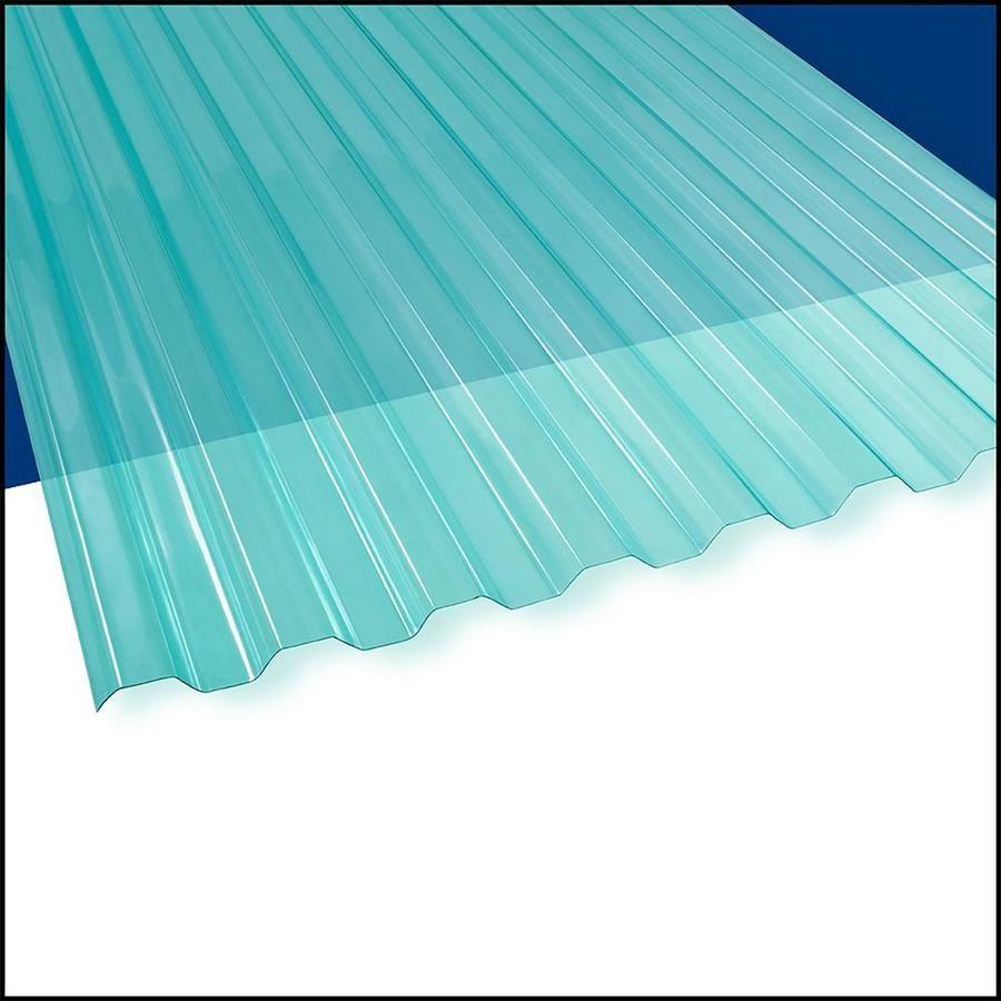 Suntuf Suntuf Sea Green 72 Inx26 In 10 Pk Lowes Com In 2020 Sea Green Corrugated Roofing Fibreglass Roof