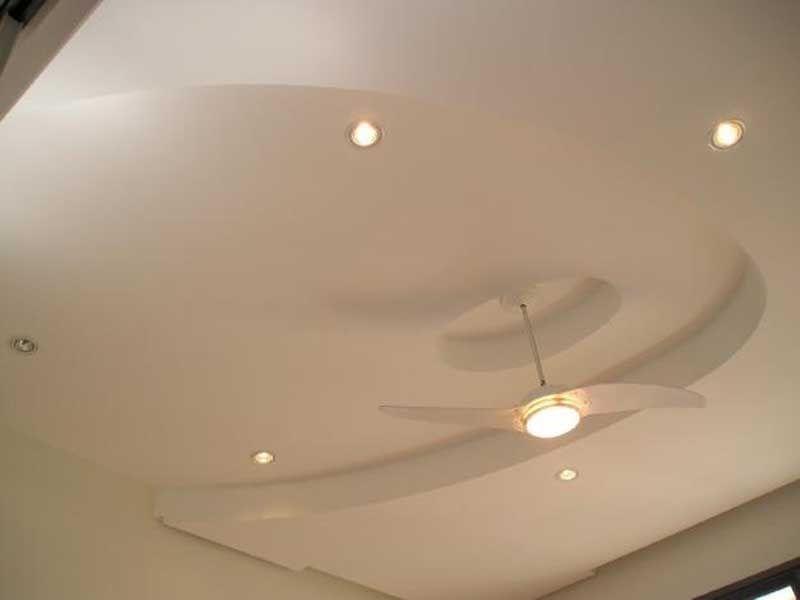 Sanca com ventilador de teto