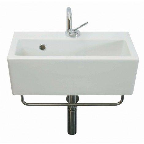 Saneux Quadro 50x27cm Washbasin QU17