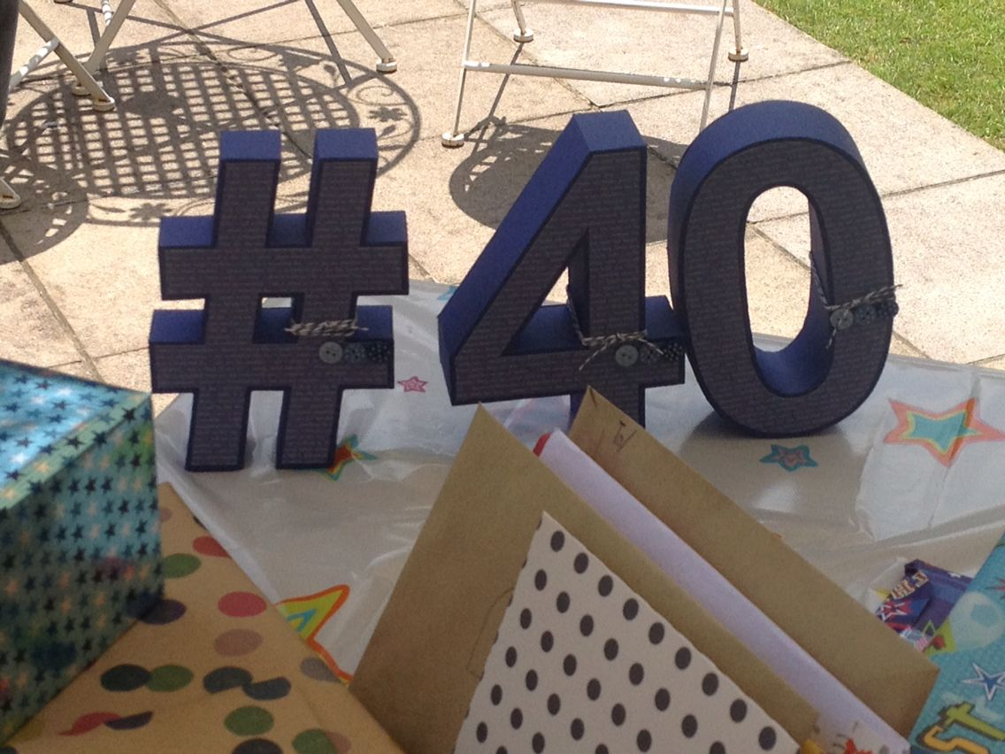 3D # and numbers from #svgcuts. 40th present.