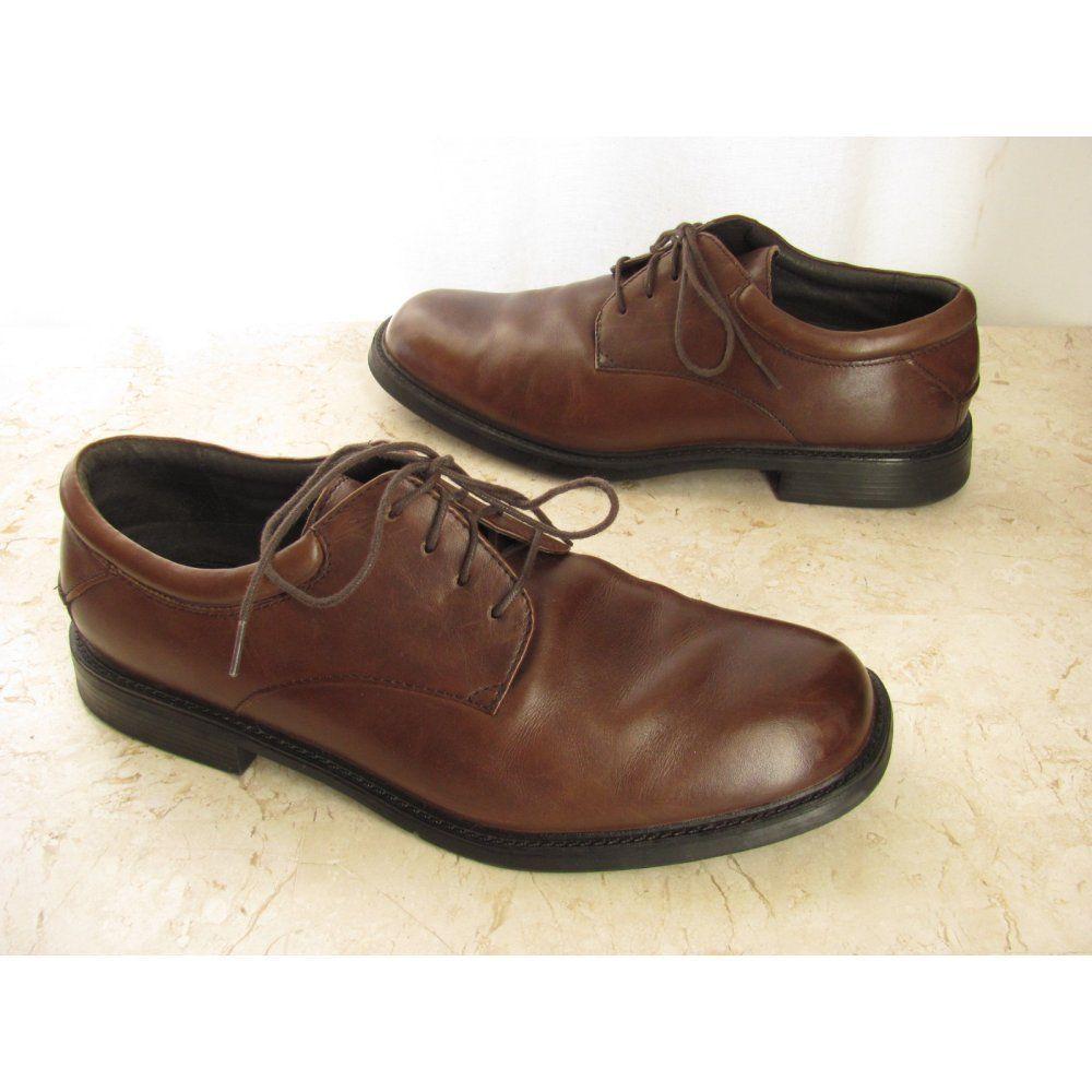 b841ef329b9 Mens Hugo Boss Black Leather Formal Shoes Size 7.5 UK 42.5 EUR Made ...