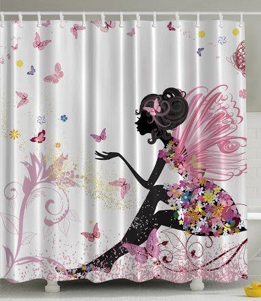 Curtains Ideas butterfly shower curtain : 17 Best images about Shower Curtains on Pinterest | Cherry flower ...