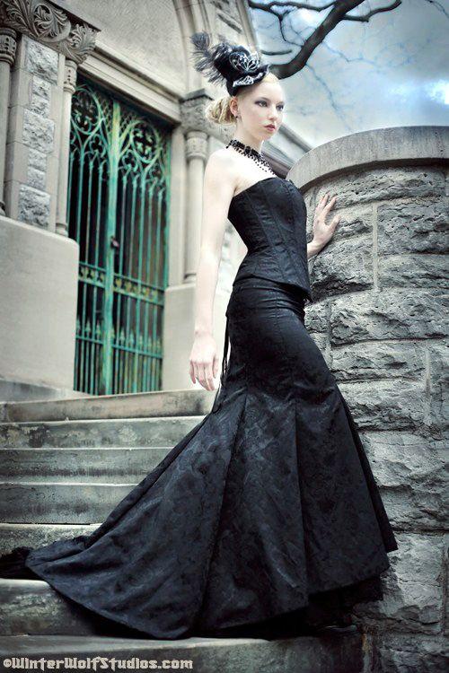 Handmade Gothic Harajuku Fashion W H Naoto Spiderweb Bag: STEAMPUNK WEDDING GOWNS
