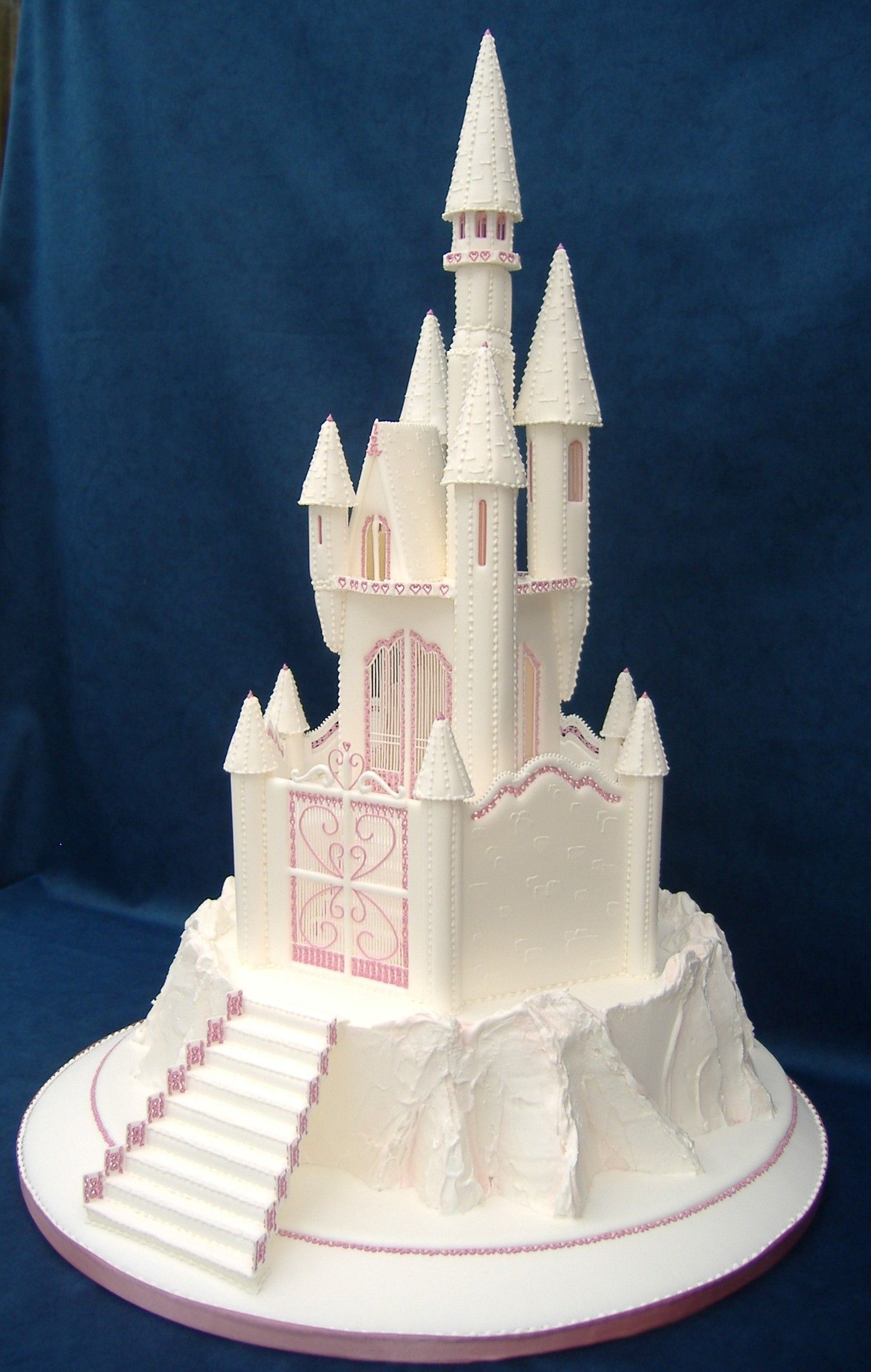 Fairy Tale Castle Wedding Cake