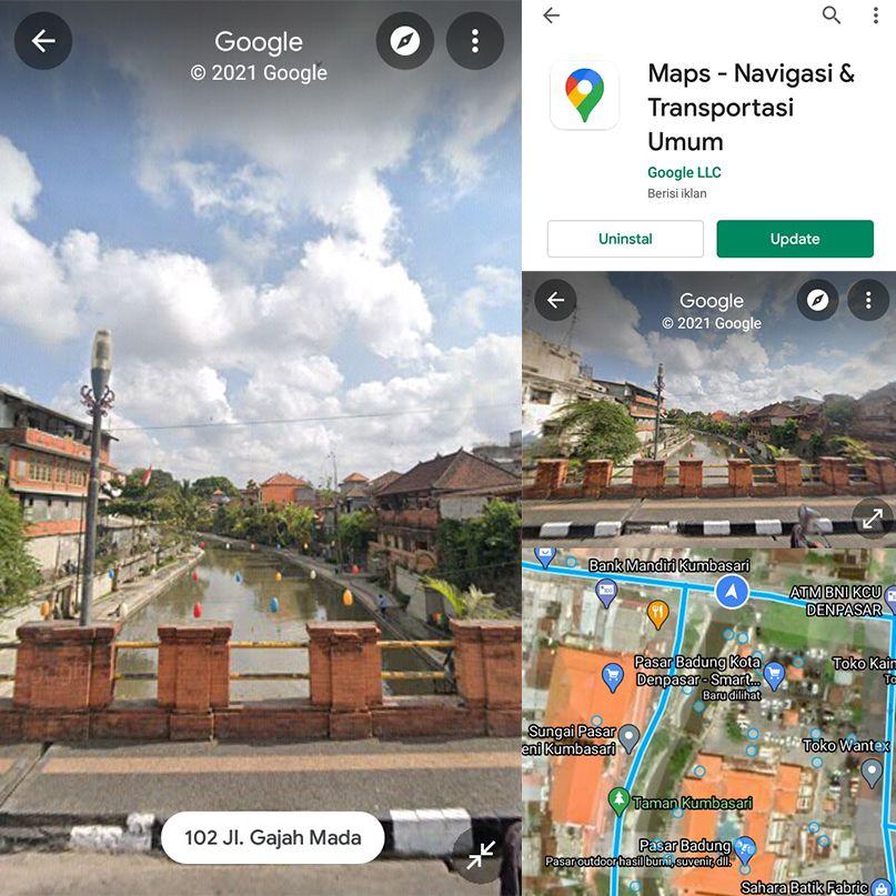 Cara Melihat Rumah Di Google Maps Android Di 2021 Penjelajah Dunia Google Transportasi Umum