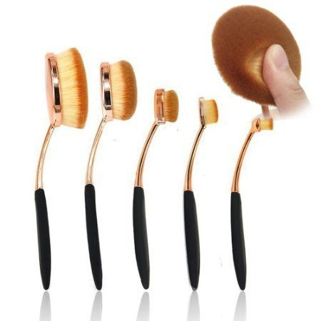 [$7.99 save 73%] Amazon #LightningDeal 77% claimed: BeautyKate 5 Pcs Oval Makeup Brush Set Professional Foundati... #LavaHot http://www.lavahotdeals.com/us/cheap/amazon-lightningdeal-77-claimed-beautykate-5-pcs-oval/181561?utm_source=pinterest&utm_medium=rss&utm_campaign=at_lavahotdealsus