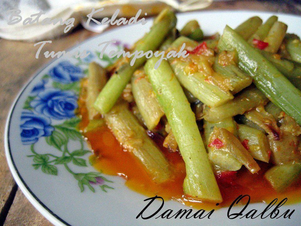 Sayur Keladi Vegetables Food Green Beans