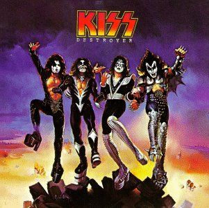 Kiss destroyer album, 1976 i believe. band i grew up (well not literally, you know what i mean)..
