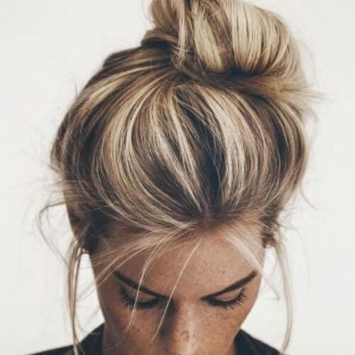 Photo of 55 fashionable ideas for brown hair with blonde highlights – Madame hairstyles -…