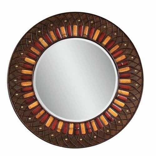 Love this Bassett Mirror Company Plantation Style Round Wall Mirror from Carolina Rustica Furniture