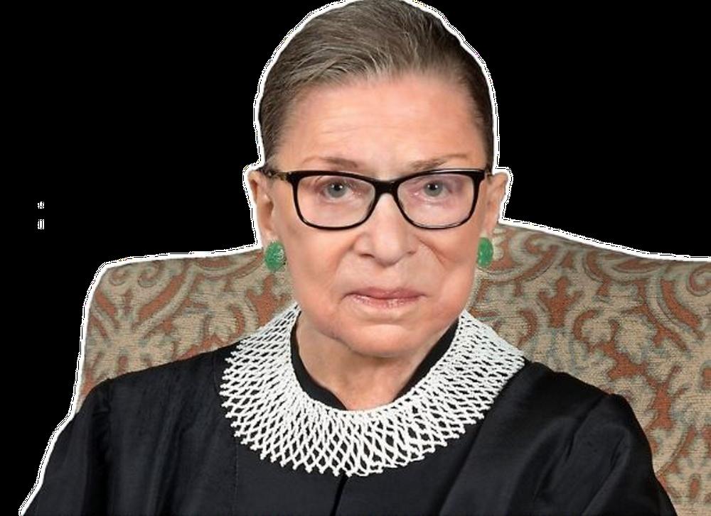 Ruth Bader Ginsburg Sticker By Professional Designer White Background 3 X3 In 2020 Designer Throw Pillows Ruth Bader Ginsburg Throw Pillows