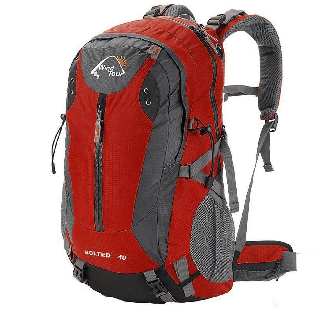 Wind Tour Waterproof 40L Mountaineering Backpack * For more information,  visit now : Backpacking gear   Backpacks, Mens travel bag, Waterproof  travel bag