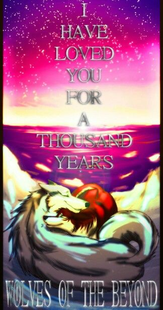 Wolves Of The Beyond Faolan And Edme From Devianart Wolf Wolf Stuff Anime Wolf