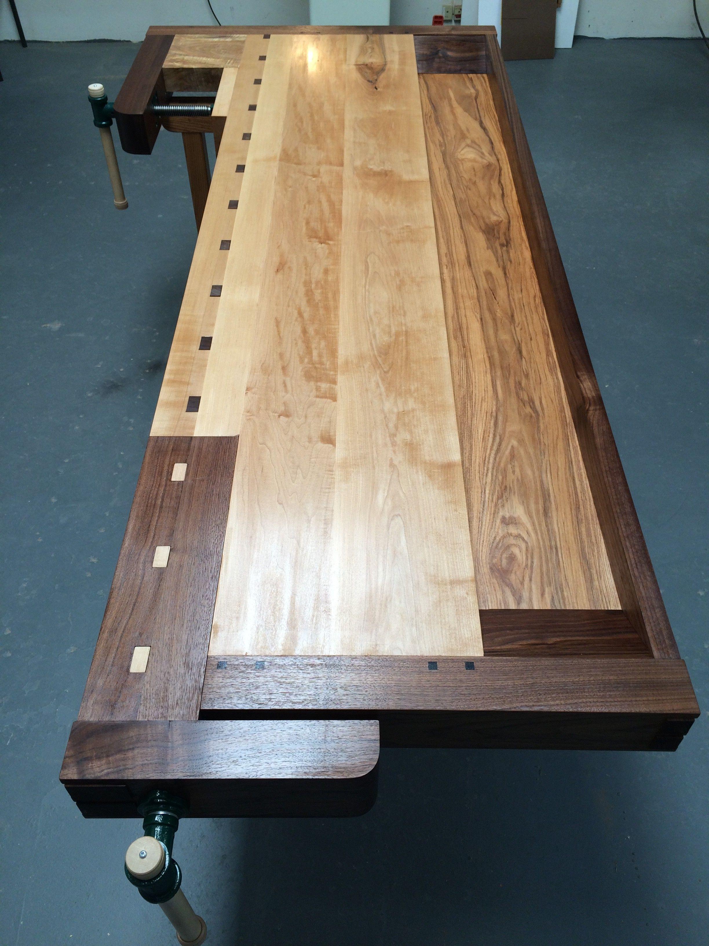 Greene & Greene Inspired Workbench - Reader's Gallery - Fine Woodworking