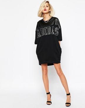 7a28c33fb2a9 Agrandir Adidas Originals - Robe avec grand logo Adidas