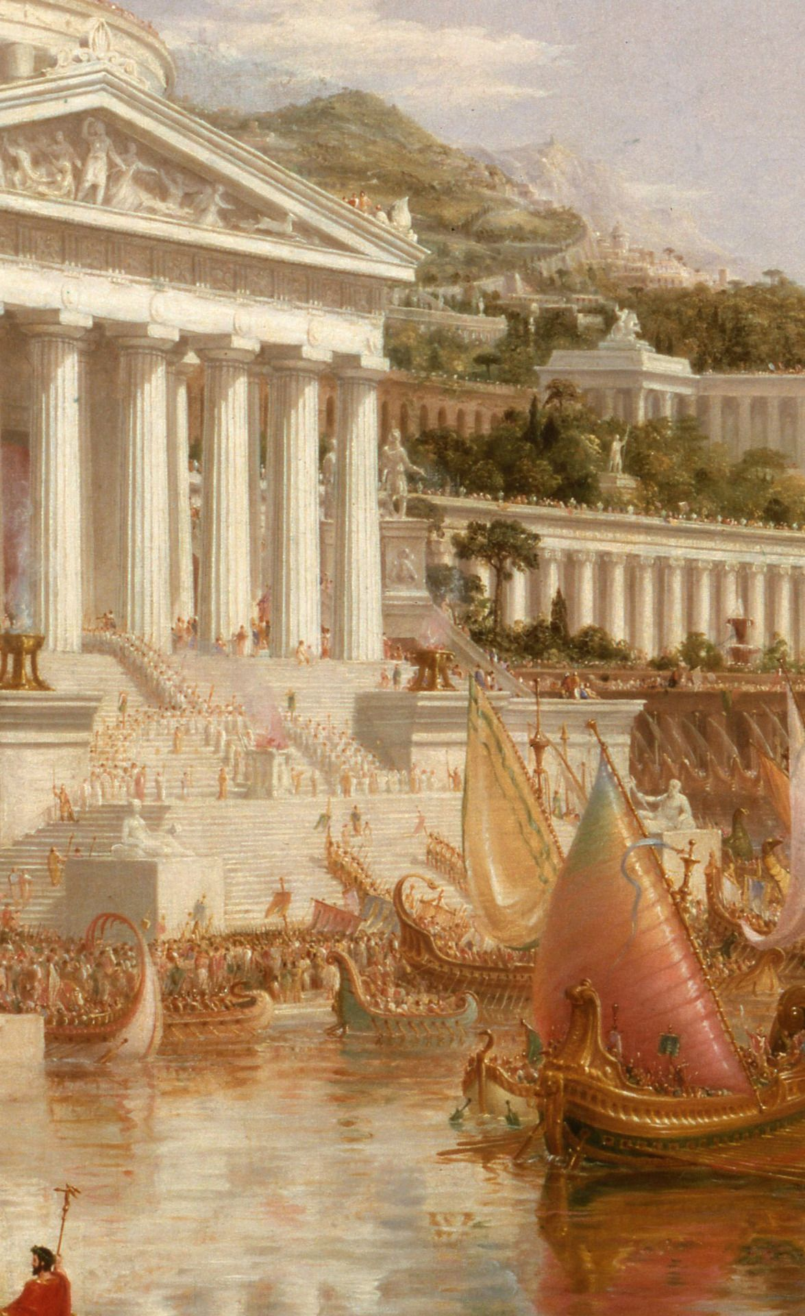 The Consummation of Empire 1836 Poster Canvas Print 15 Thomas Cole