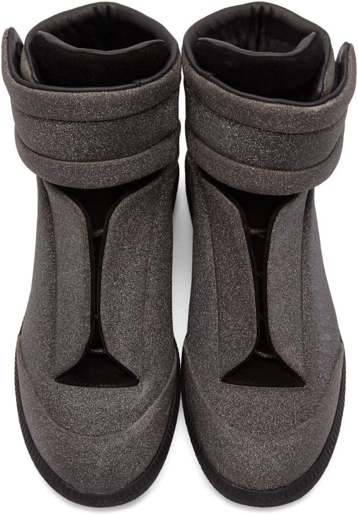 glitter sequins embellished sneakers - Black Maison Martin Margiela 6luPjCGtU