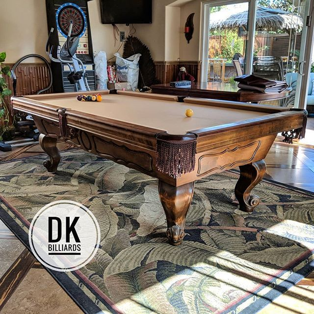 Finished Installing This Foot Delmo In HB Approximately Years - Delmo pool table