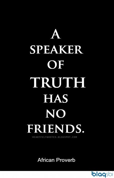 Blaqsbi | Post: The truth is bitter and its hurt when speak...