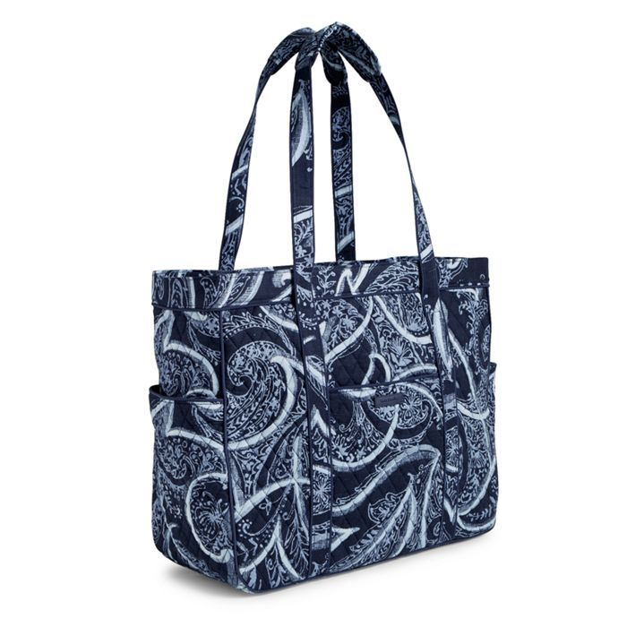 Image Of Get Carried Away Tote In Indio Quilted Handbags Vera Bradley Birthday Wishes