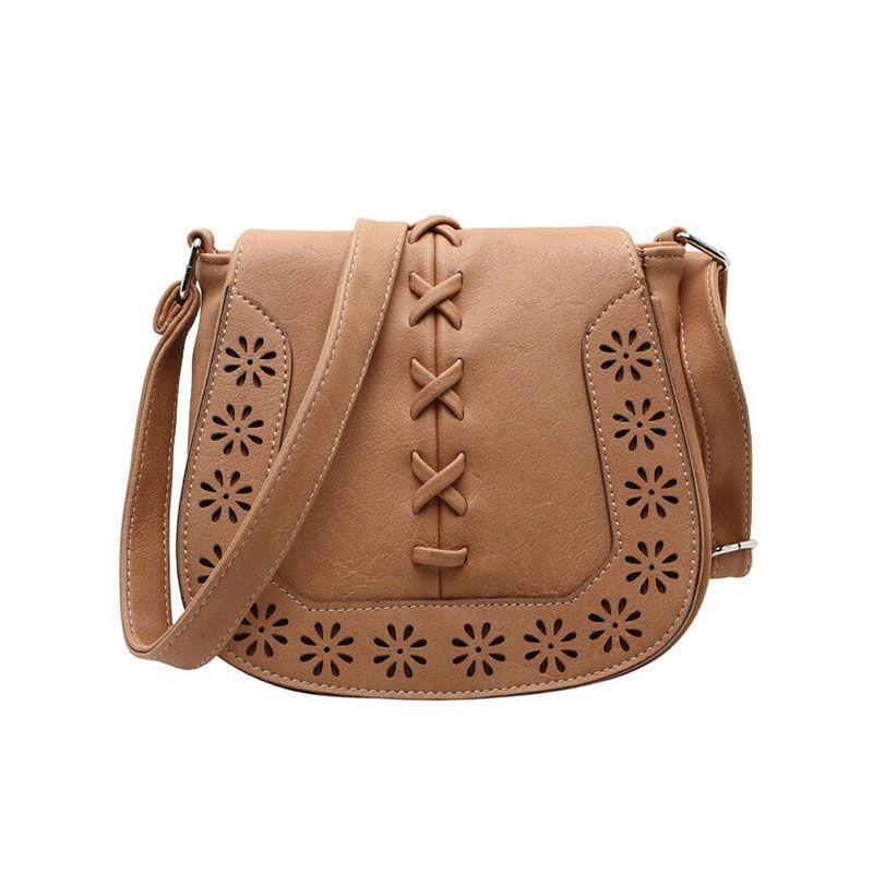 Bag · Hot Sale Women s Handbag Vintage Bag Shoulder Bags Hollow Out Crossbody  Bags Bolsa For Women Messenger d12271d3af521