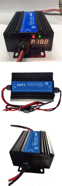 Chargers And Inverters 41980 24v 72v Mppt Boost Solar Panel Battery Regulator Charge Controller Blue Buy It Now Only Solar Panel Battery Ebay Solar Panels