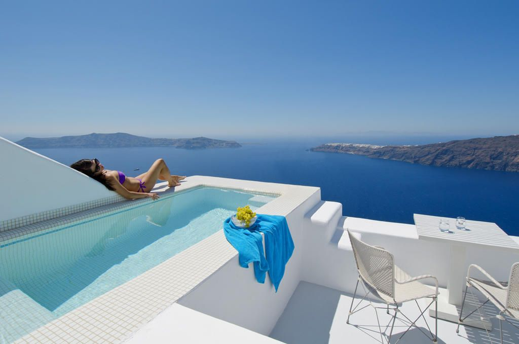 Hotel White Santorini Suites Spa Imerovigli Greece Booking