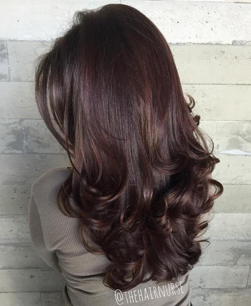 Pin On Layered Long Hair