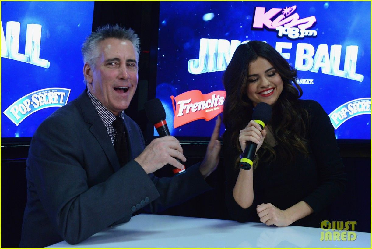 Selena Gomez: People Forget Demi Lovato Has Been There for Me Too | selena gomez kiss 108 jingle ball 2013 09 - Photo