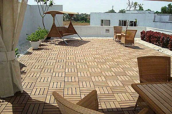 outdoor flooring over concrete