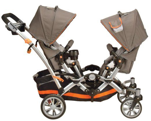 Amazon.com: Contours Options Tandem II Stroller, Tangerine: Baby
