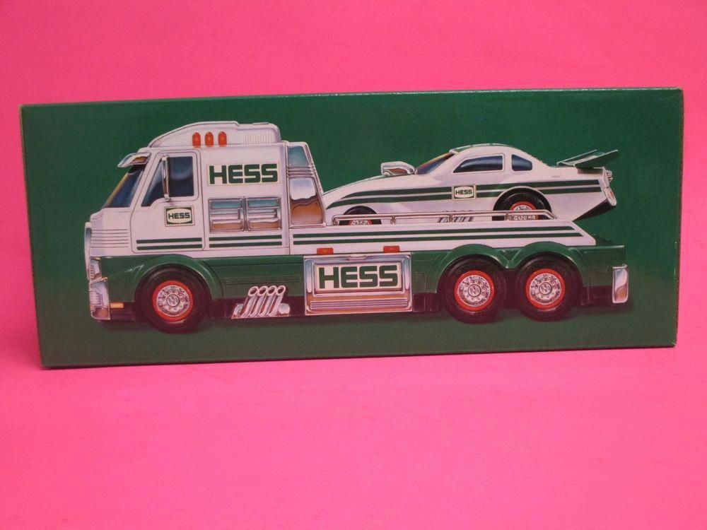 Brand New 2016 Hess Toy Truck Dragster In Unopened Box Batteries