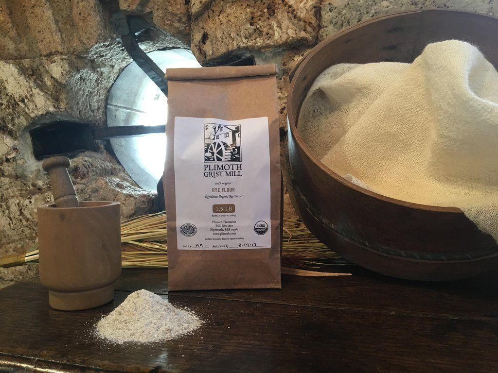 Plimoth Grist Mill Rye Flour Rye flour, Rye