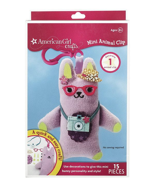 Look at this Bunny Mini Animal Clip on #zulily today!