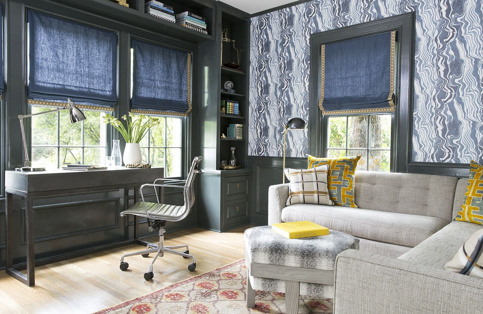 35 Eclectic Home Offices (With images) Eclectic home