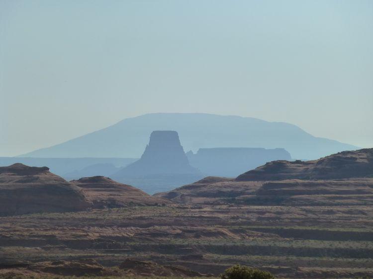 Naatsis'aan (aka Navajo Mountain), Navaho Nation, Utah-Arizona border