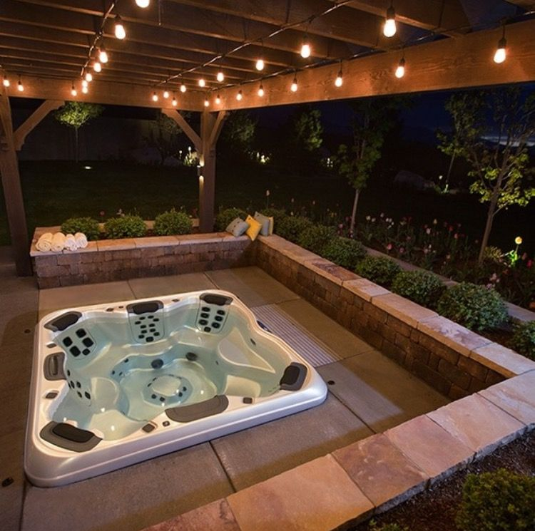 Pin By Zoe Goodyer On Garden With Images Hot Tub Gazebo