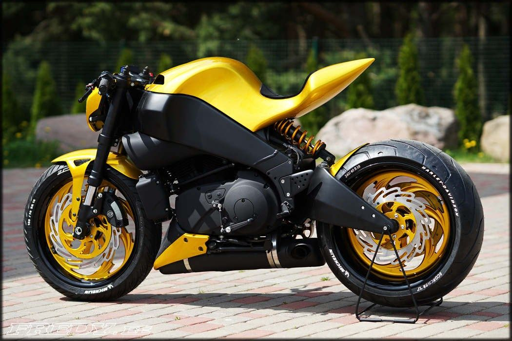 Awesome Custom Bike Buell Xb9s Lightning By Fredy Motorcycles Motorcycles Custom Custombike Bike Motorbike Moto Tu Custom Bikes Motorbikes Motorcycle