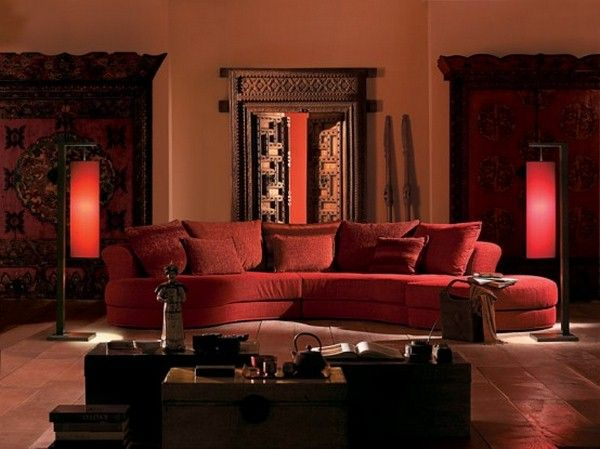 Ancient Indian Interior Design Indian Living Rooms Red