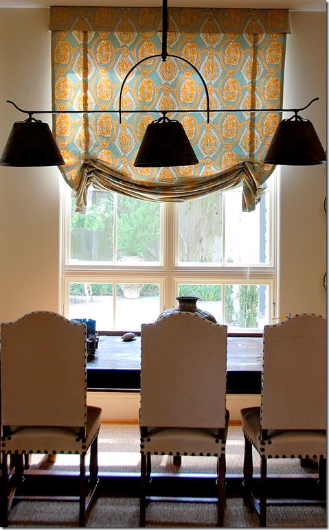 lights and window treatment