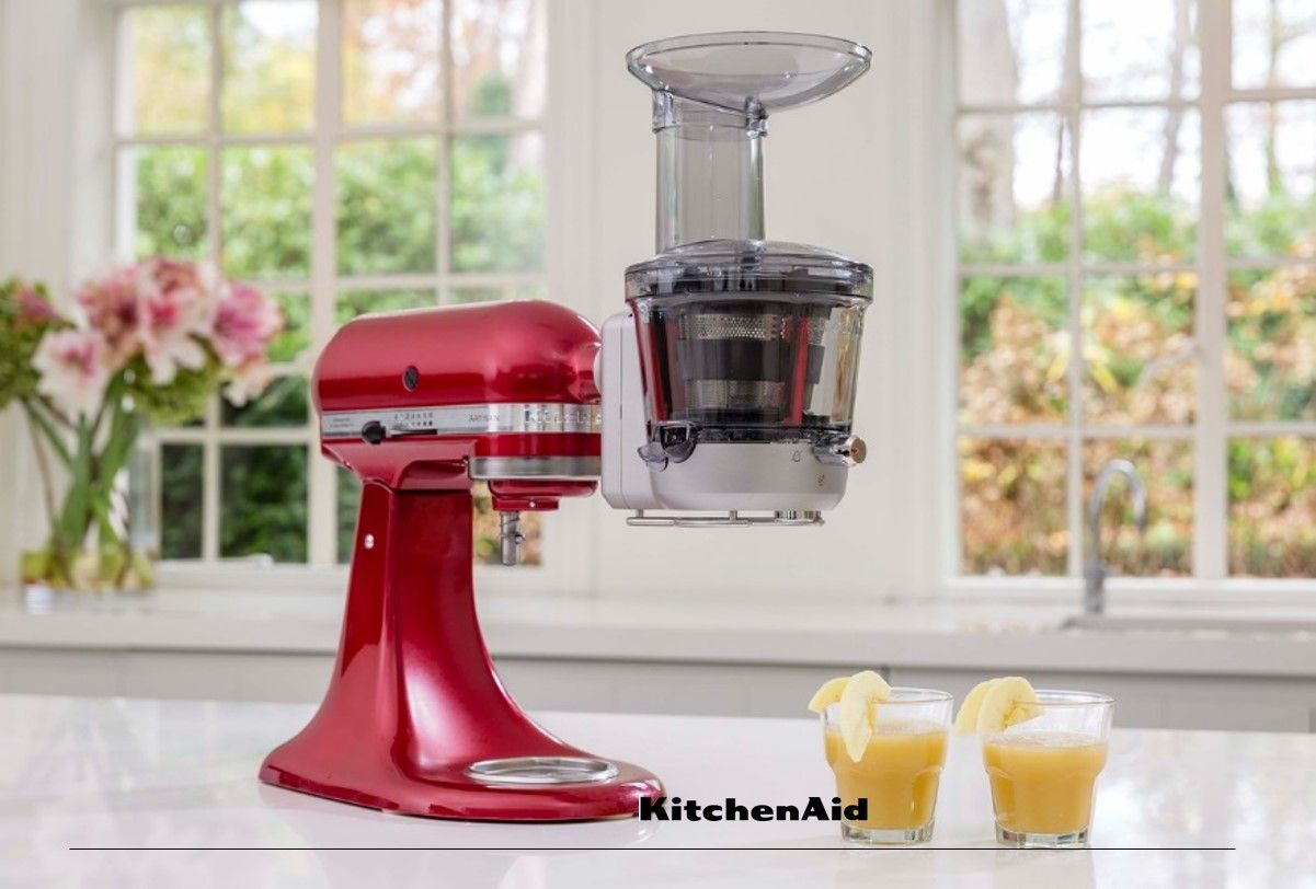 Freshly squeezed juice in the morning is easy with the