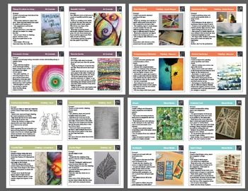 Art Task Cards for Grades 6-12 - Bundle Set 1... by A Space to Create | Teachers Pay Teachers