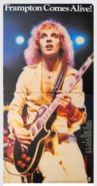 Frampton Comes Alive Album Cover  One of the Best Live Albums of All