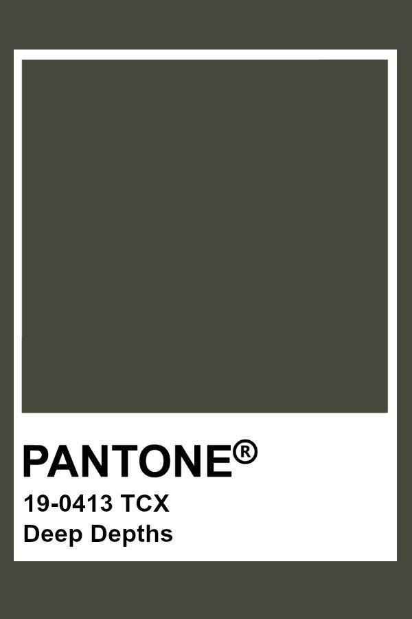 Pantone Deep Depths Pantone Colour Palettes Pantone Color Pantone Swatches